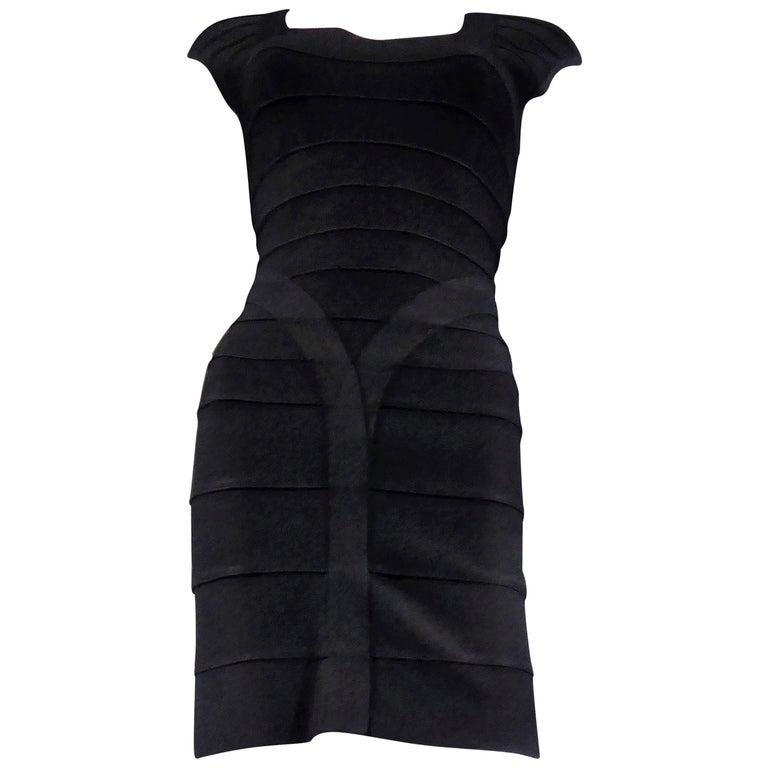 Hervé Léger Couture Dress For Sale