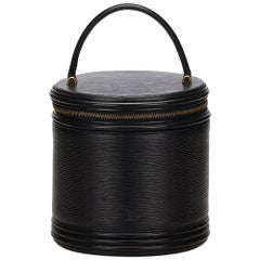 Louis Vuitton Epi Leather Cannes Round Vanity Bag