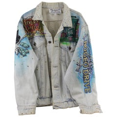 "Tony Alamo ""Beverly Hills"" Denim Jacket, 1980s"