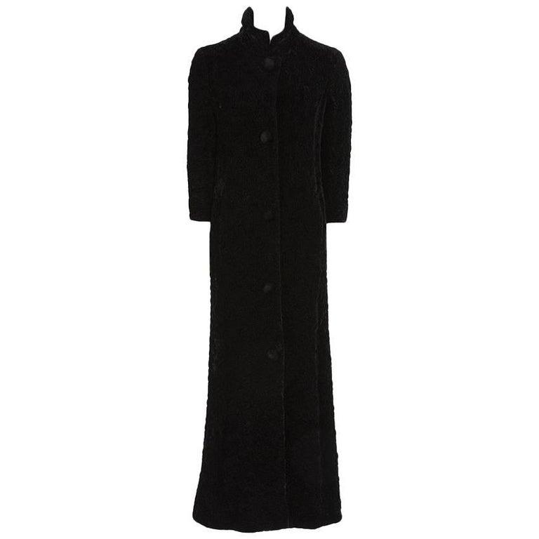 Guy Laroche Velvet Evening Coat