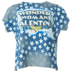 Valentino Wonder Woman Star Studded T-Shirt