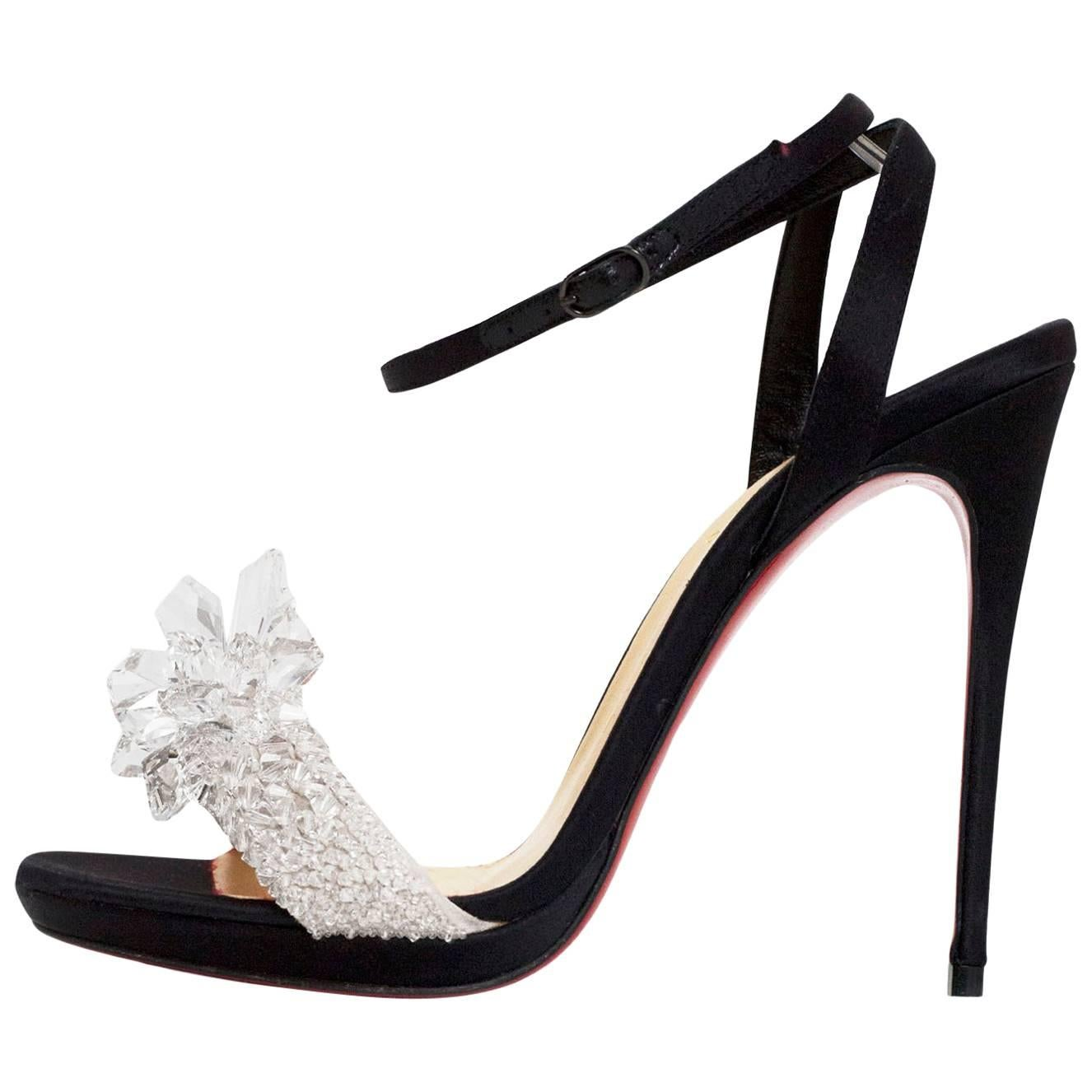 d238a81b92f australia louboutin black heel queen 7265f 8f1a7