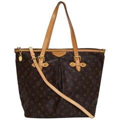 Louis Vuitton Monogram Palermo GM Tote Bag w/ Strap