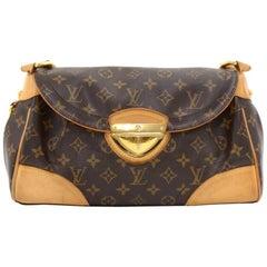 Louis Vuitton Beverly MM Monogram Canvas Shoulder Hand Bag
