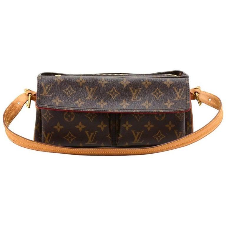 Louis Vuitton Viva Cite MM Monogram Canvas Shoulder Hand Bag