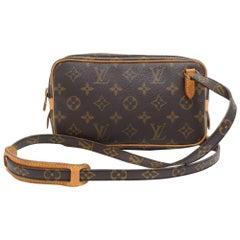 Louis Vuitton Vintage Pochette Marly Bandouliere Monogram Canvas Shoulder Bag
