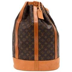 Louis Vuitton Vintage Randonnee GM Monogram Canvas Shoulder Bag