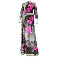 Léonard Printed Woollen Dress