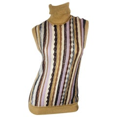 Missoni Sleeveless Turtleneck