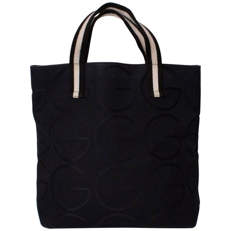 3dd52a1e617 Gucci Black Shopper For Sale at 1stdibs