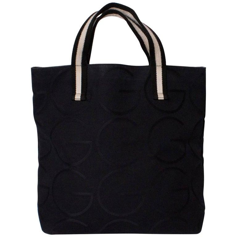 c0f2a8aba48c Gucci Black Shopper For Sale at 1stdibs