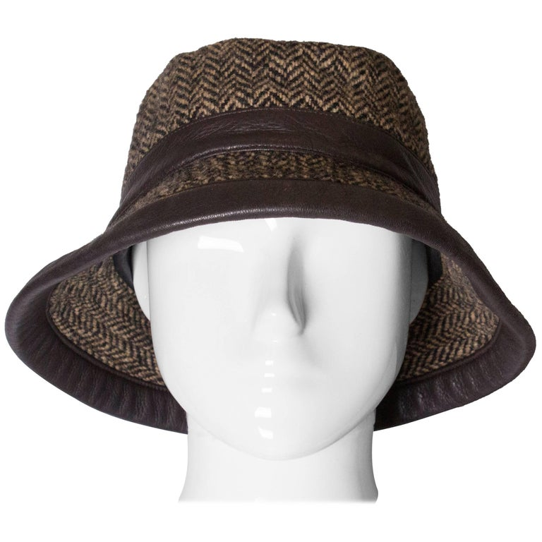 Hermes wool and cashmere Hat