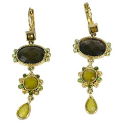 3-Tier Dangle Earrings
