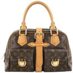 Louis Vuitton Manhattan Handbag Monogram Canvas GM