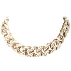 Chanel Curb Link Choker