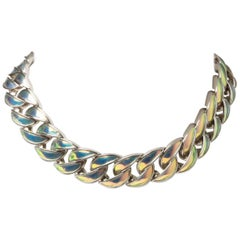 Chanel Iridescent Chain Choker