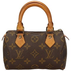 Louis Vuitton Brown Monogram Mini Speedy
