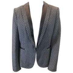 Rag & Bone Black and White Blazer