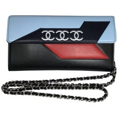 Chanel Airline Lambskin Wallet on a Chain Bag, Spring 2016