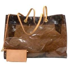 Louis Vuitton Cabas Cruise Monogram Vinyl Shoulder Tote Bag - 2000 Limited