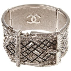 Chanel Runway Diamante Crystal Strassed Belt Cuff