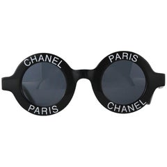 Chanel Sunglasses Style 01945 in Black from Spring Summer 1993
