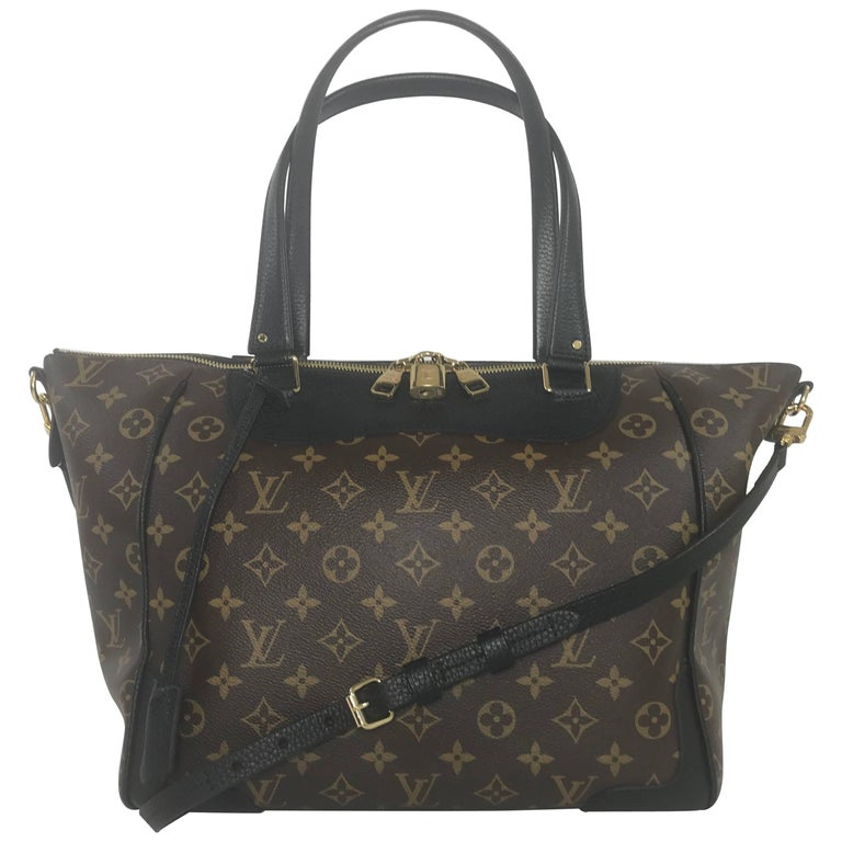 Louis Vuitton Monogram Estrela with Black Trim Shoulder Bag