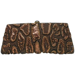 Fantastic & Collectible Era Tom Ford for YSL Beaded and Sequins Clutch