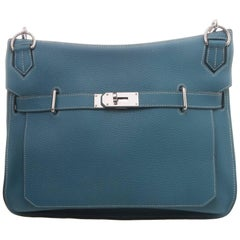 Hermès Blue Jean Taurillon Clemence Jypsiere 34