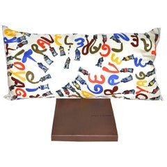 Vintage Louis Vuitton Scarf Pillow Light  iwj4504-1