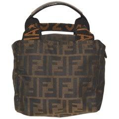1990s Fendi Fabric Logo Bag