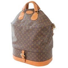 Louis Vuitton Large Steamer Bag Monogram Travel Tote Neiman Marcus Vintage 70s