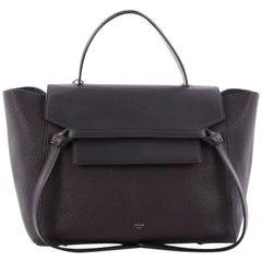 Celine Bicolor Belt Bag Leather Mini