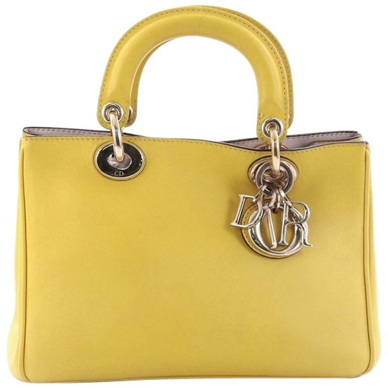Christian Dior Diorissimo Tote Smooth Leather Mini