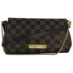 Louis Vuitton Damier Ebene Favorite MM Crossbody Bag