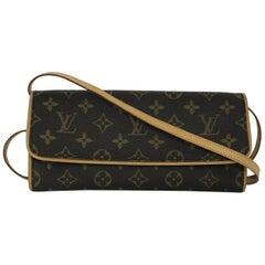 Louis Vuitton Monogram Pochette Twin GM Crossbody Bag