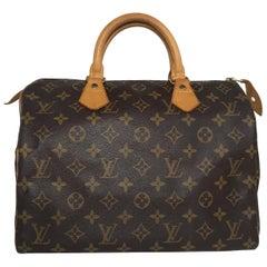Louis Vuitton Monogram Speedy 30 Satchel
