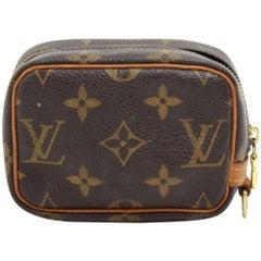 Louis Vuitton Trousse Wapity Monogram Canvas Pouch Bag
