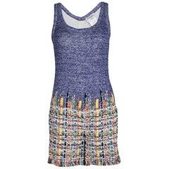 Chanel Multicolor Maison Lesage Fantasy Tweed Playsuit Mini Jumpsuit Overall