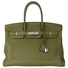 2013 Hermes Canopee Togo Leather Birkin 35cm