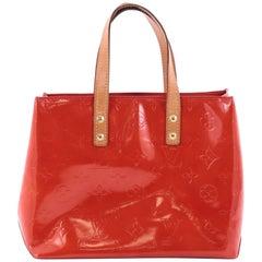 Louis Vuitton Reade Handbag Monogram Vernis PM