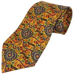 Vintage Christian Lacroix Men's Silk Necktie