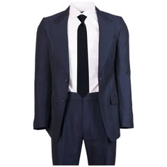 Tom Ford Men's Navy Mohair Blend Two Piece Shelton Base Suit