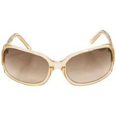Clear Vera Wang Rectangular Sunglasses