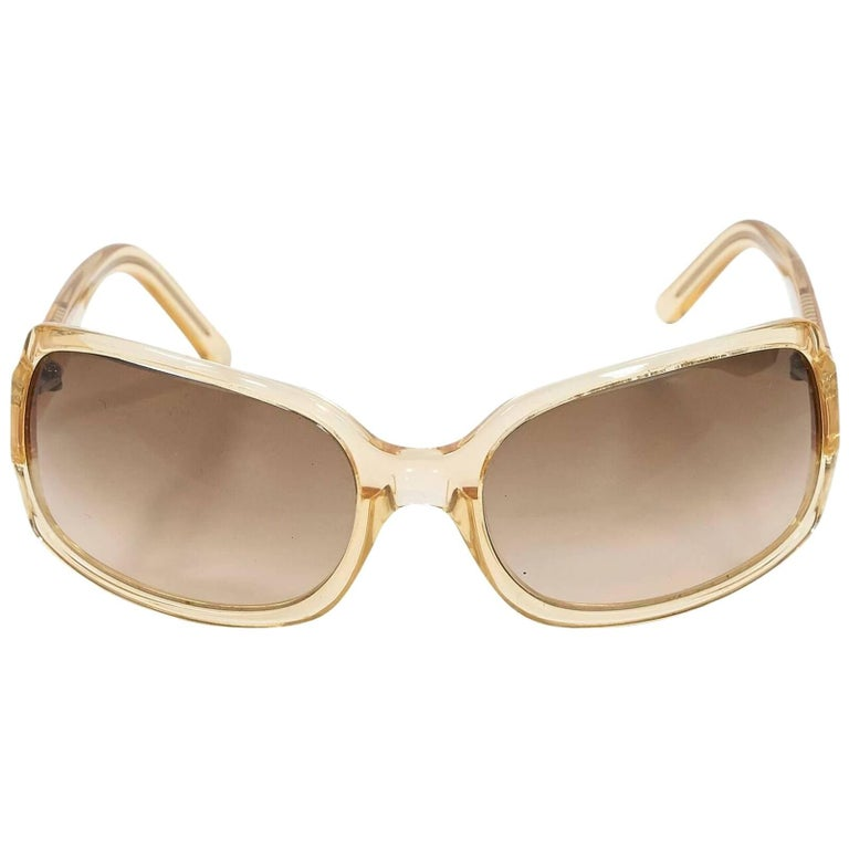 Clear Vera Wang Rectangular Sunglasses