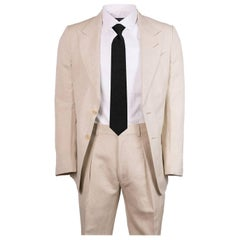 Tom Ford Men's Beige Wool Blend Two Piece Suit