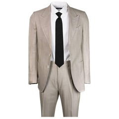 Tom Ford Men's Beige Textured Shelton Base Two Piece Suit