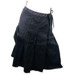 Prada Drawstring Skirt