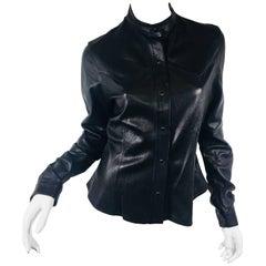 Maxfield Parrish Leather Jacket