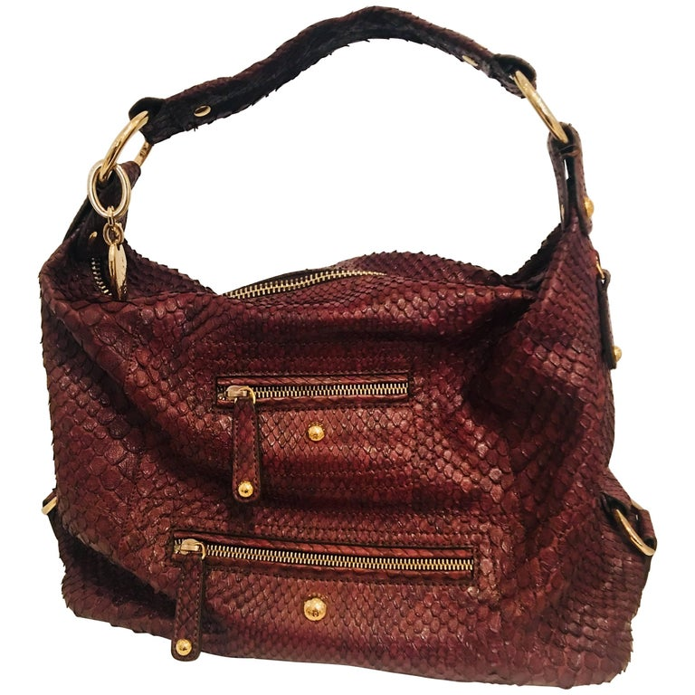 f596b5c7180d Tods Pashmy Python Bag For Sale at 1stdibs